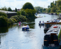 Lee Navigation at Broxbourne: Arc 1