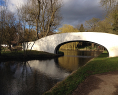 Changeline bridge, Watford: Spoke 10 Canal