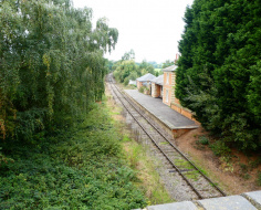 Blake Hall Station, Epping to Ongar Railway: Spin-off 1-2-3