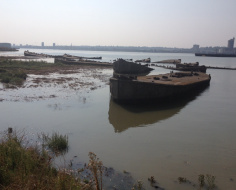 WW2 landing craft, Rainham marshes: Spin-off 3