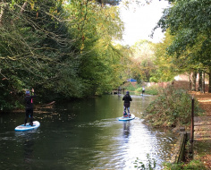 Alternative transport, Basingstoke Canal: Spin-off 8