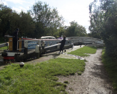 Springwell Lock, Harefield; Grand Union canal