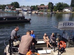The Shepperton ferry (ring the bell!): Spokes 6, 6-7